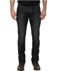 John Varvatos Bowery Fit Jean Slim Straight Leg in Ink - Lyst