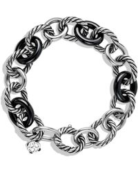 David Yurman - Oval Large Link Bracelet - Lyst