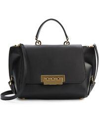 Zac Zac Posen Leather Top Handle Shoulder Bag - Lyst