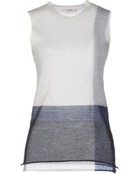 Celine White Sweater - Lyst