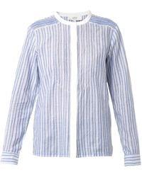 Vanessa Bruno Athé Belina Striped Shirt - Lyst