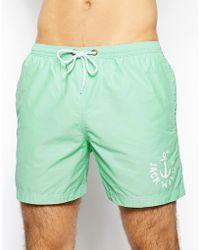 Jack Wills - Plain Swim Shorts - Lyst