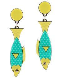 Yazbukey - Sardine Earring - Lyst