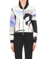 Kenzo Paper Neoprene Jacket - For Women - Lyst
