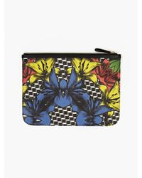Pierre Hardy Men'S Printed Canvas Pouch multicolor - Lyst