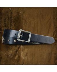Denim & Supply Ralph Lauren - Leather Starburst Belt - Lyst