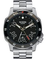 Nixon   Ranger Gmt Stainless Steel Watch   Lyst