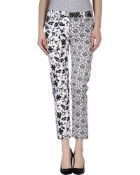 Roccobarocco - Casual Trousers - Lyst
