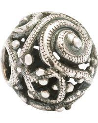 Trollbeads - Silver Whirl Bead - Lyst