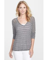 Sanctuary 'Beach' V-Neck Sweater - Lyst
