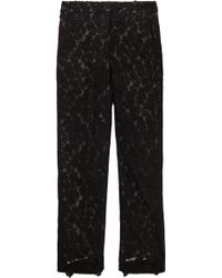 Erdem Gianna Lace Straight Pant - Lyst