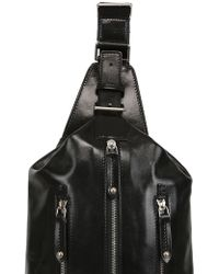 The Bridge - Hand-painted Leather Mono-strap Backpack - Lyst
