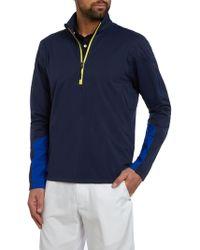 Ralph Lauren Golf - Stratus Plain Half Zip Jumper - Lyst