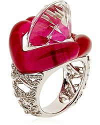 Lydia Courteille Erotic Ring - Lyst