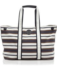 Tory Burch Tote - Printed Canvas - Lyst