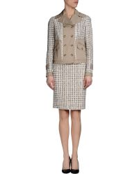 Dolce & Gabbana Khaki Women'S Suit - Lyst