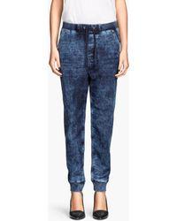 H&M Jogger Jeans - Lyst