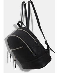 Mango - Zipped Backpack - Lyst