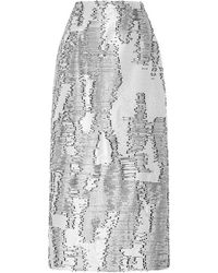 Bibhu Mohapatra - Desert Jacquard Skirt - Lyst