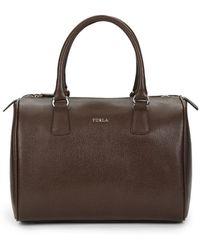 Furla D-Light Medium Leather Satchel - Lyst