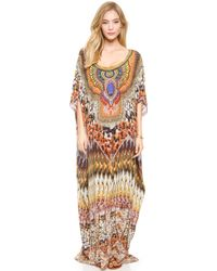 Camilla Round Neck Caftan - State Of Disorder - Lyst