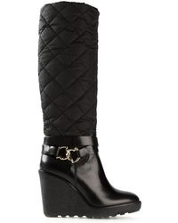 Moncler Grenoble Marie Quilted Boots - Lyst