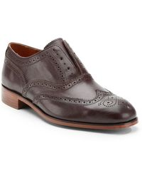 Florsheim By Duckie Brown Laceless Brogue Wingtip Shoes - Lyst