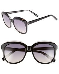 Elizabeth And James 'Whitley' 55Mm Oversize Sunglasses - Lyst