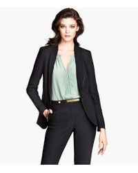 H&M Drawstring Jacket - Lyst