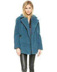 Elizabeth And James Dawson Coat - Winter Blue - Lyst