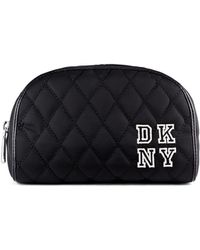 DKNY Collegiate Embroidery Cosmetic Case - Lyst