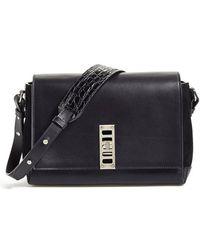 Proenza Schouler Elliot Leather Cross-Body Bag - Lyst
