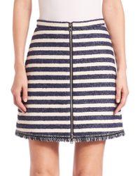 Sonia by Sonia Rykiel | Striped Tweed Skirt | Lyst