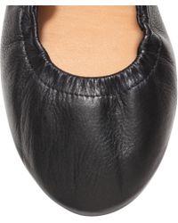 H&M Leather Ballet Pumps - Lyst