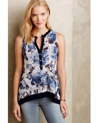 Sweet Pea By Stacy Frati - Lumila Mesh Henley - Lyst