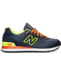 New Balance Womens 574 Woven Casual Sneakers From Finish Line - Lyst