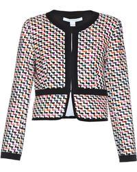Diane von Furstenberg Alberta Woven Jacket - Lyst