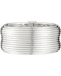 Slane - Sterling Silver Column Cuff Bracelet - Lyst