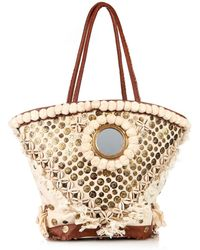 Figue Tuk Tuk Embroidered Tote Bag - Lyst