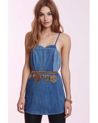 Chanel | Vintage Suzette Denim Apron | Lyst