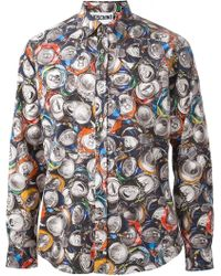 Moschino Can Print Shirt - Lyst