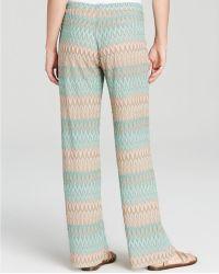Moon & Meadow - Knit Drawstring Trousers - Lyst