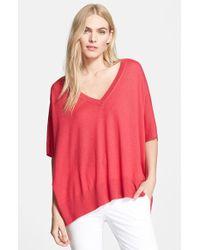Diane von Furstenberg Women'S 'Honey' Silk & Cashmere Pullover - Lyst