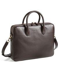 Ralph Lauren Collection Leather Briefcase - Lyst