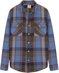 Levi's Shorthorn Plaid Brushed-Cotton Shirt - Lyst