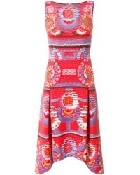 Peter Pilotto | Abstract Print Dress | Lyst