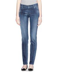Armani Straight Leg Jeans - Lyst