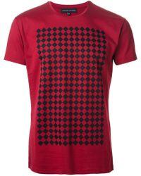 Jonathan Saunders Saxon Tshirt - Lyst