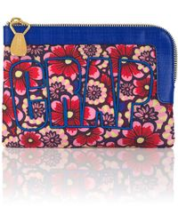 House of Holland Crap Pouch Flower Wallpaper - Lyst