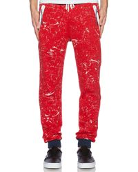 Staple Red Vail Sweatpants - Lyst